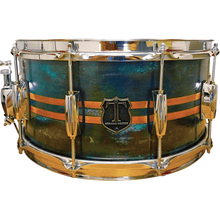"T Berger Drums 14""x6,75"" Copper Patina Snare Drum"
