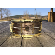 "T Berger Drums 14""x7"" Steel Cast Snare Drum"