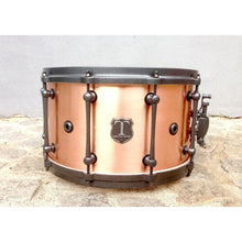 "T Berger Drums 14""x8"" Antique Copper Snare Drum"