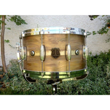"T Berger Drums 14""x8"" Patina Brass Snare Drum"