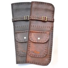 The Hand Company Deluxe Leather Stick Bag - Brown
