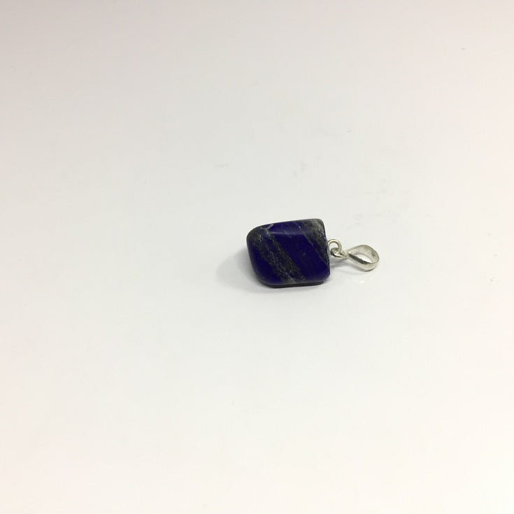 Lapis Lazuli Necklace - Lapis Pendant Rough Cut - 43.20 ct