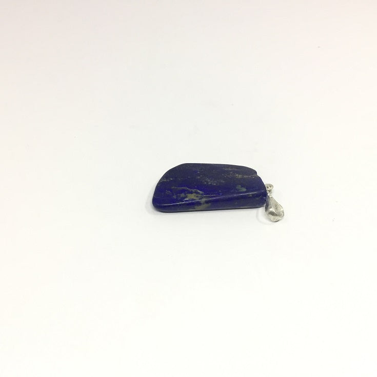 Lapis Lazuli Necklace - Lapis Pendant Rough Cut - 46.25 ct