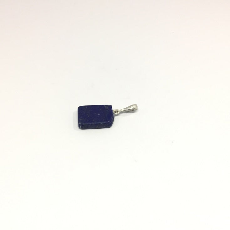 Lapis Lazuli Necklace - Lapis Pendant Rough Cut - 18.95 ct