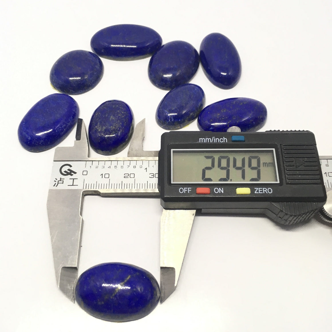 Lapis Lazuli Cabochon - Lapis Cabochon For Ring Oval Cut - 417.90 Carat