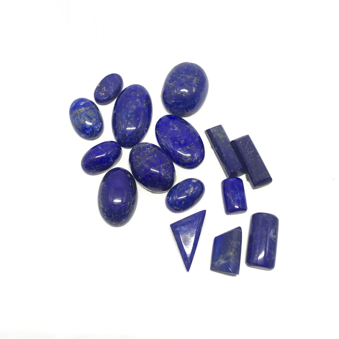 Lapis Lazuli Cabochon - Lapis Cabochon For Ring Multiple Cut - 148.75 ct