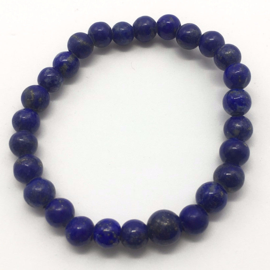 48.5 Carat , 27 Round Beads Handmade Bracelet With Elastic Stretch,Grade AAA Quality Beads