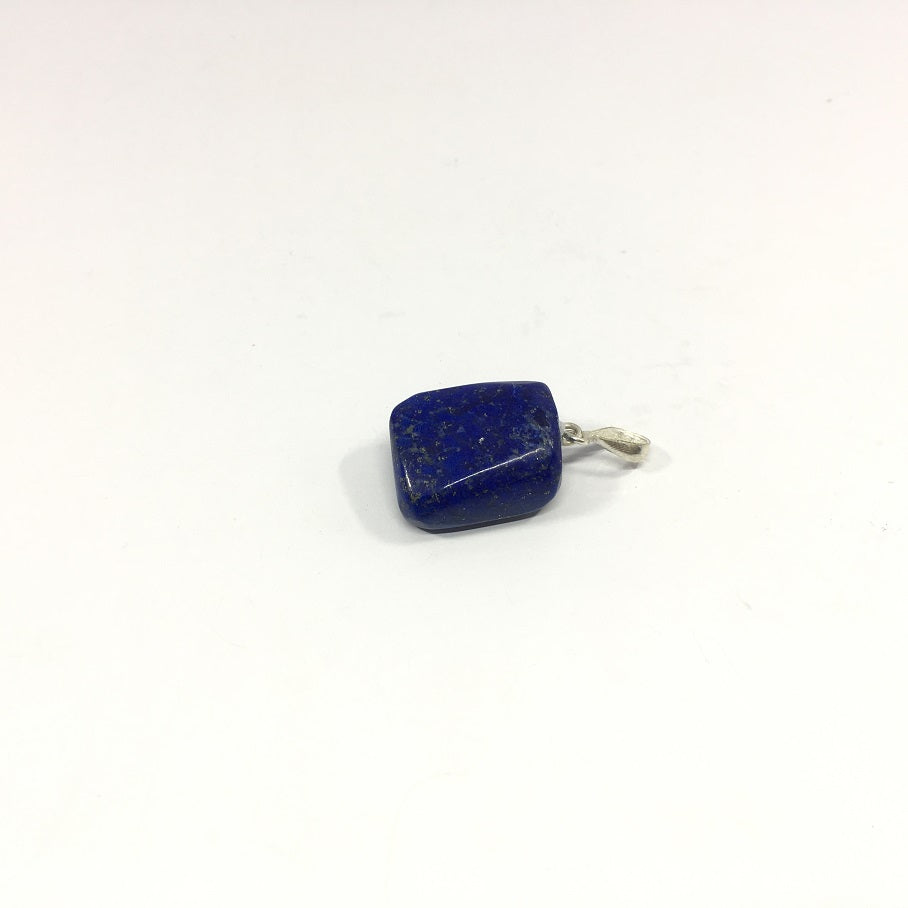 Lapis Lazuli Necklace - Lapis Pendant Rough Cut - 53.70 ct