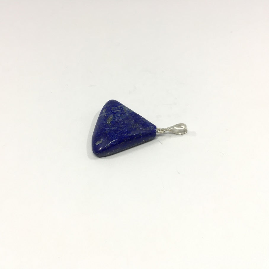 Lapis Lazuli Necklace - Lapis Pendant Rough Cut - 68.65 ct