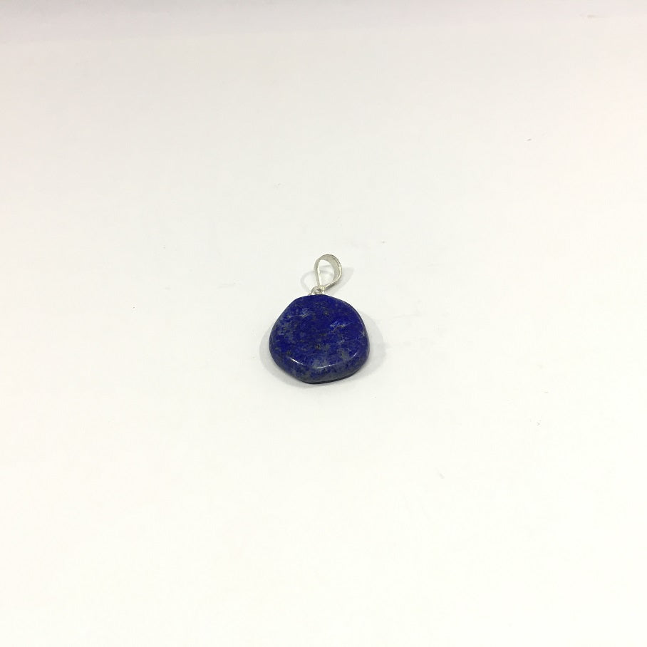 Lapis Lazuli Necklace - Lapis Pendant Rough Cut - 30.95 ct