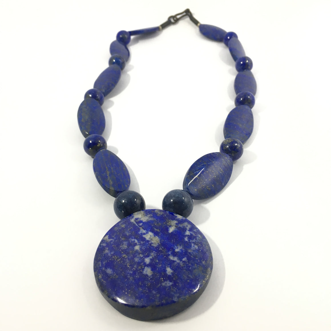 Lapis Lazuli Necklace - Lapis  Necklace Sleek Designed - 560.0 ct