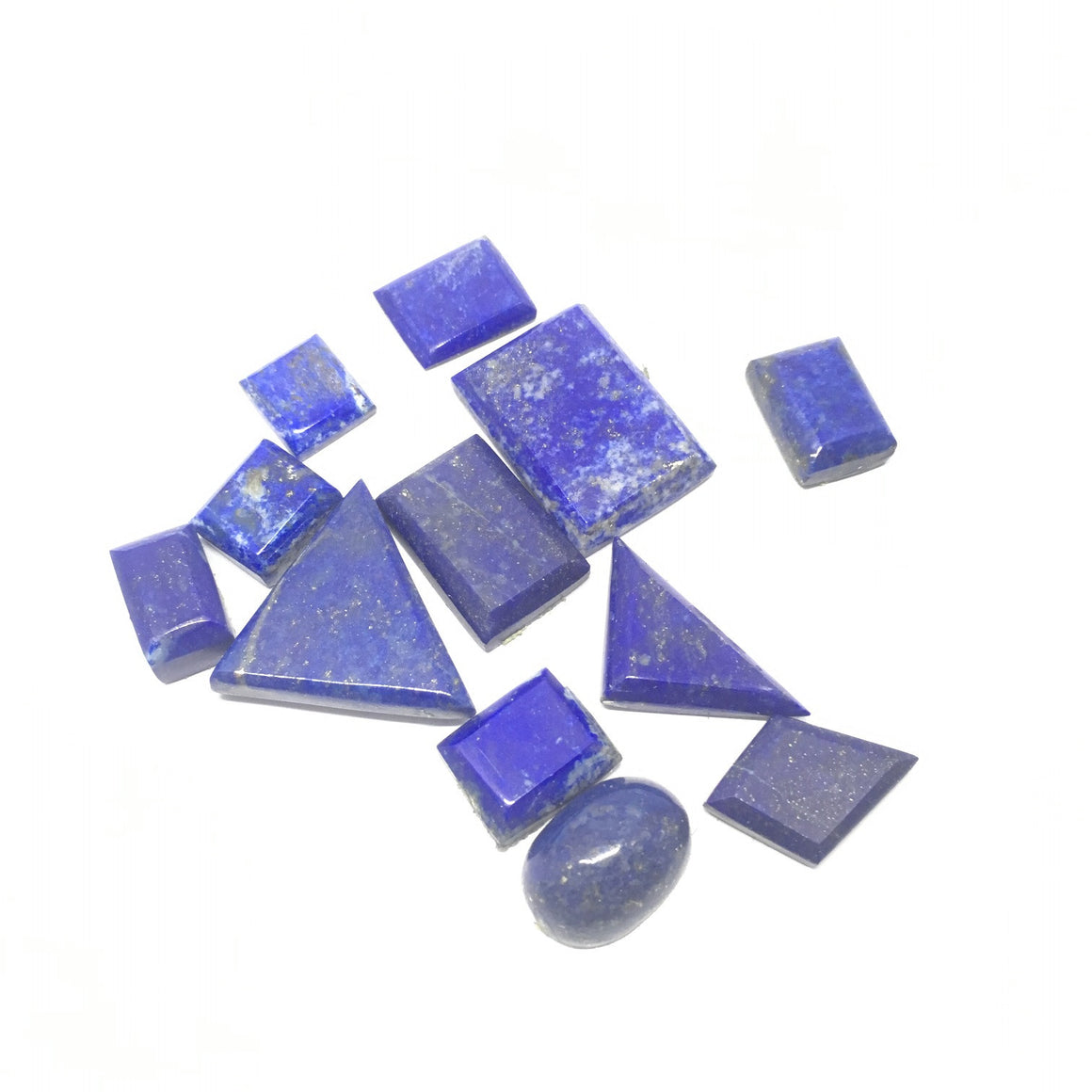 Lapis Lazuli Cabochon - Lapis Cabochon For Ring Multiple Cut - 177.5 ct