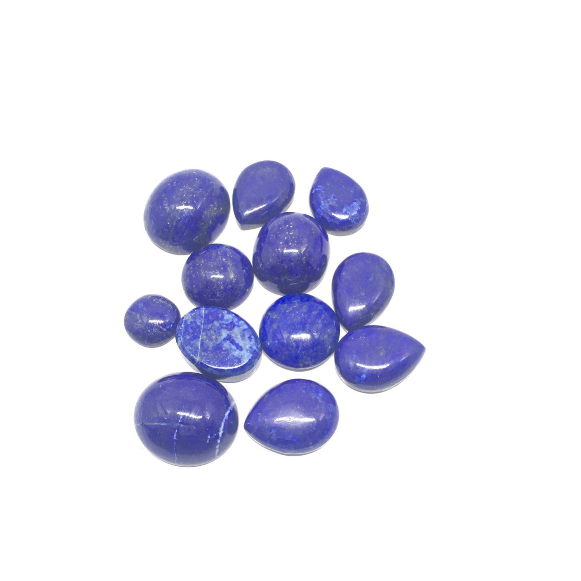 Lapis Lazuli Cabochon - Lapis Cabochon For Ring Multiple Cut - 182.75 ct