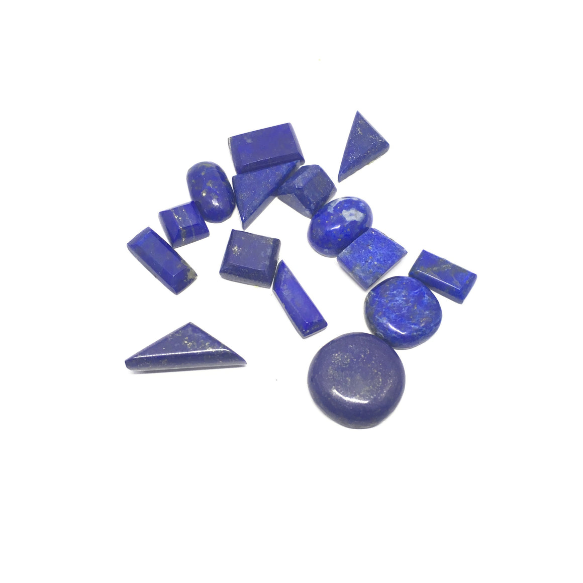 Lapis Lazuli Cabochon - Lapis Cabochon For Ring Multiple Cut - 132.70 ct