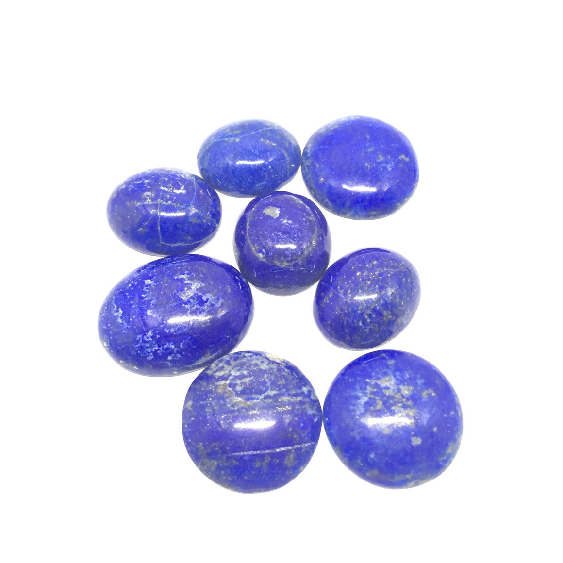 Lapis Lazuli Cabochon - Lapis Cabochon For Ring Oval Cut - 283.00 Carat
