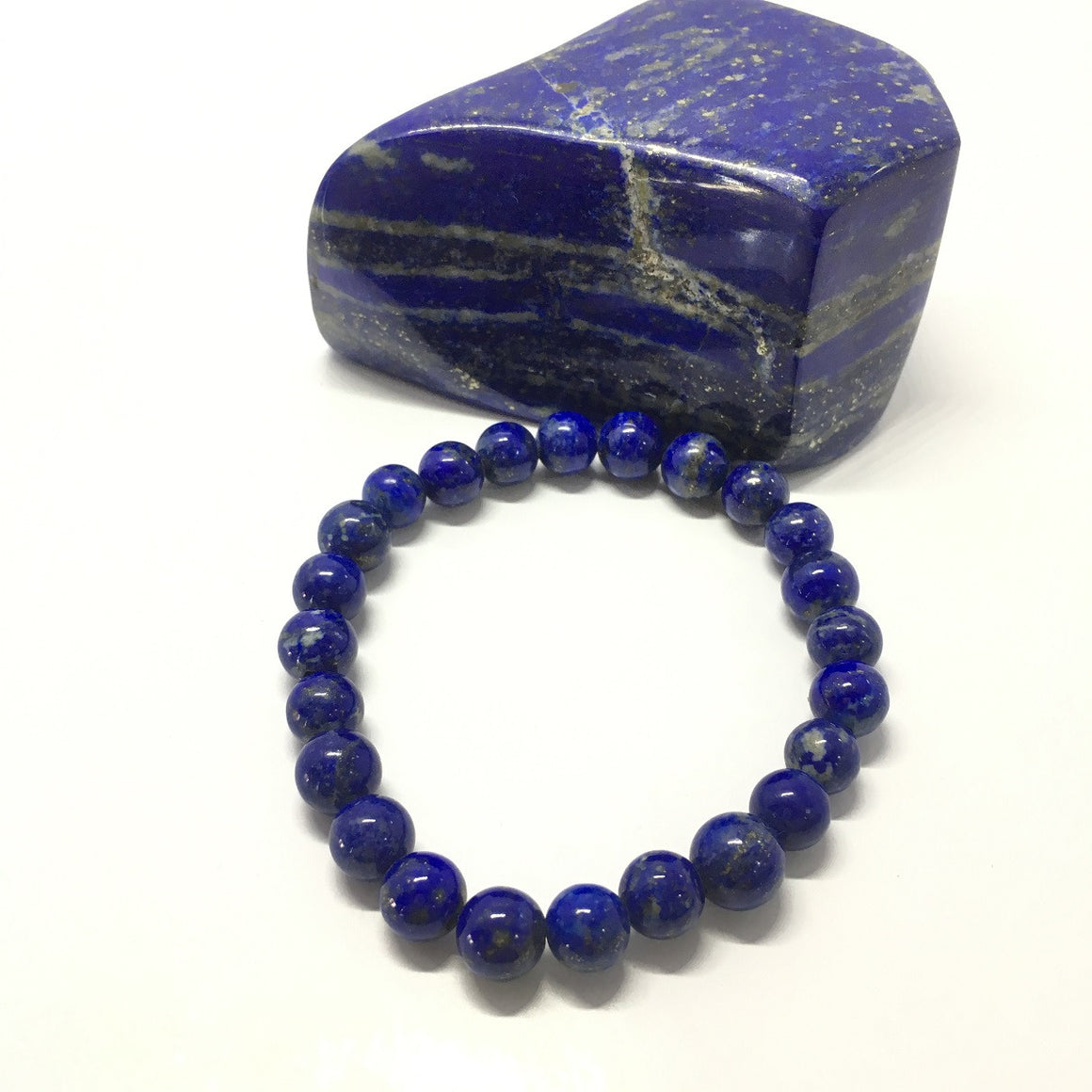 113.95 Carat , 24 Round Beads Handmade Bracelet With Elastic Stretch,Grade AAA Quality Beads