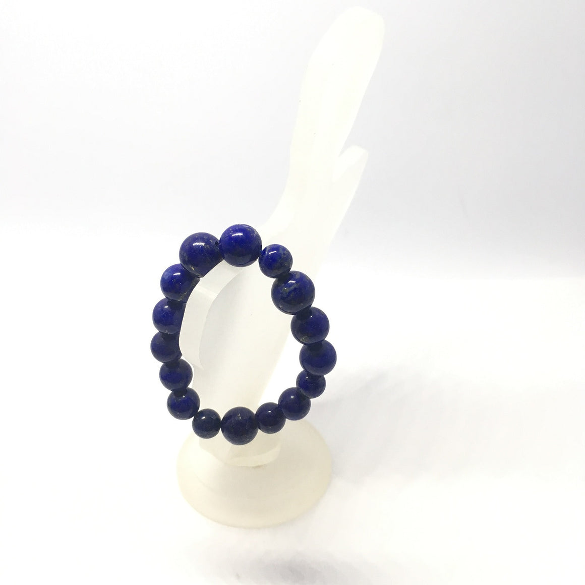63.30 Carat , 16 Round Beads Handmade Bracelet With Elastic Stretch,Grade AAA Quality Beads