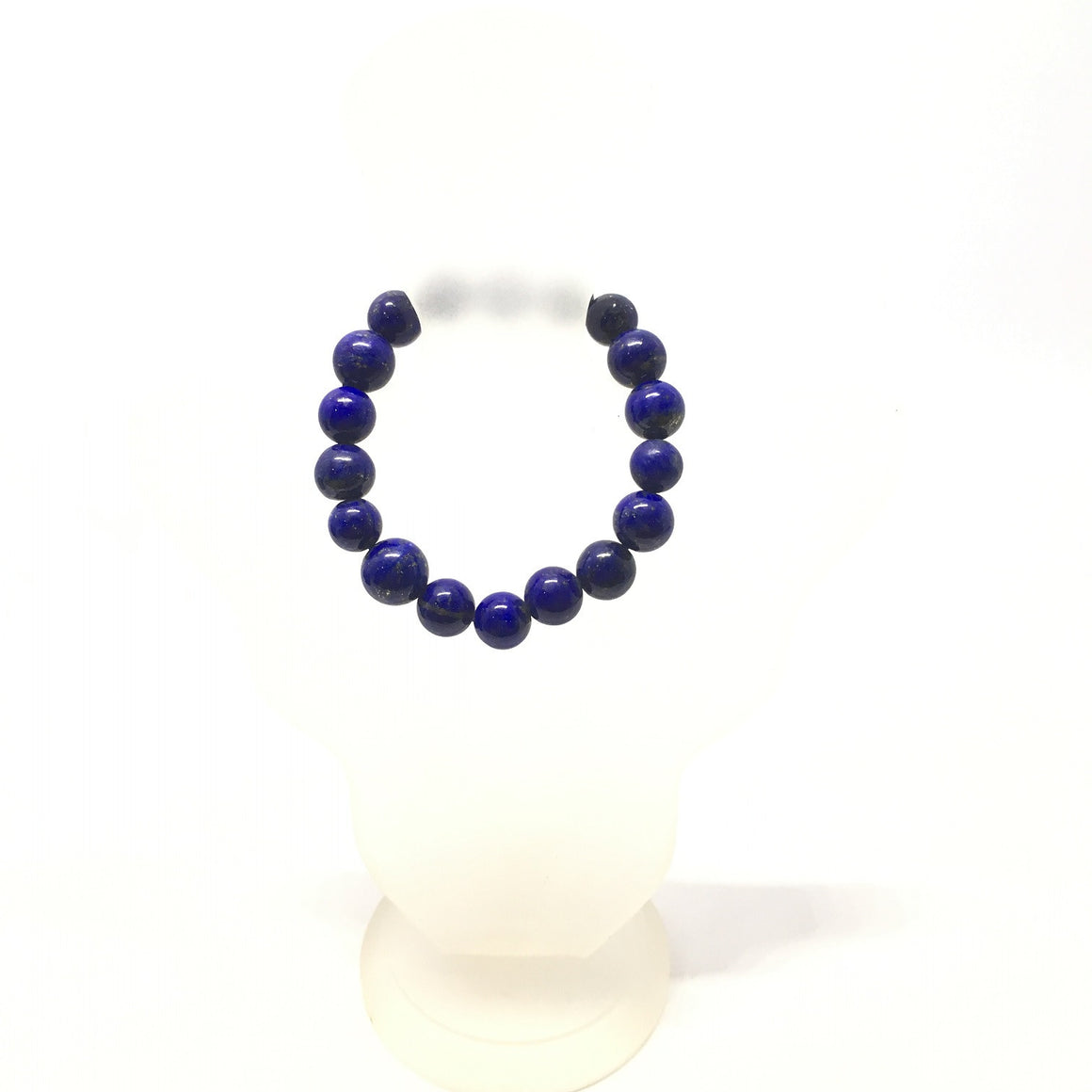 63.30 Carat , 18 Round Beads Handmade Bracelet With Elastic Stretch,Grade AAA Quality Beads