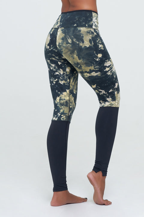 Angela legging High waist Sport Jungle Dye