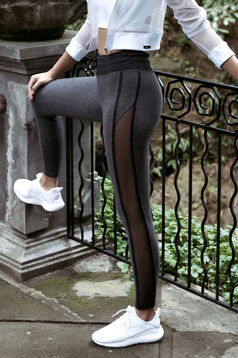 Tya Legging in Eco Cotton/lycra