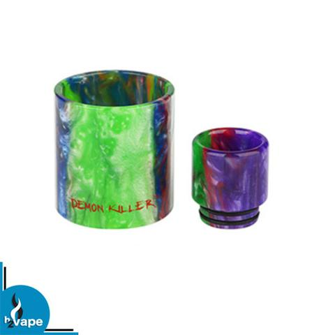 Demon Killer Resin Drip Tip and Glass