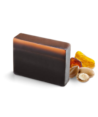 Amber with Argan Oil block Soap