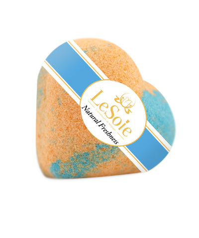 LeSoie Bath Heart 85g - Natural Freshness