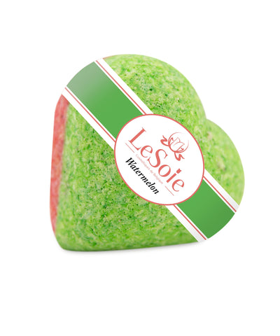 LeSoie Bath Heart 85g - Watermelon