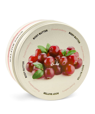 Bonjour & Bonne Nuit Frosted Cranberry Body Butter