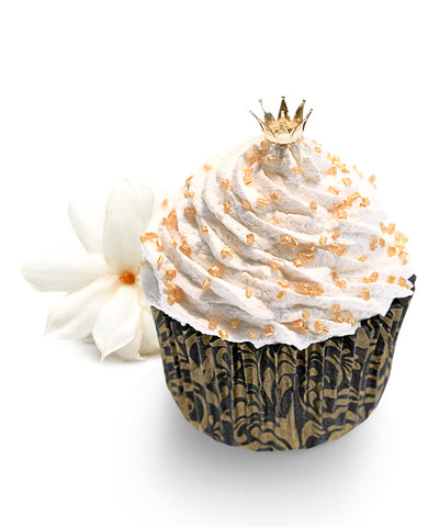 Golden Crown Soap Cupcake