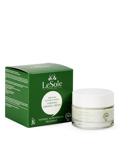 Joie Organic cream with cucumber extract