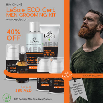 LeSoie Sale - 40% ECO Certified Men Grooming Kit