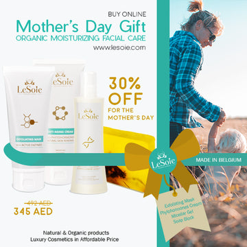 Mother's Day Gift - LeSoie Facial Care Organic Moisturizing