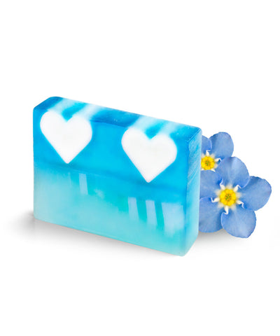 Ocean Hearts Block Soap
