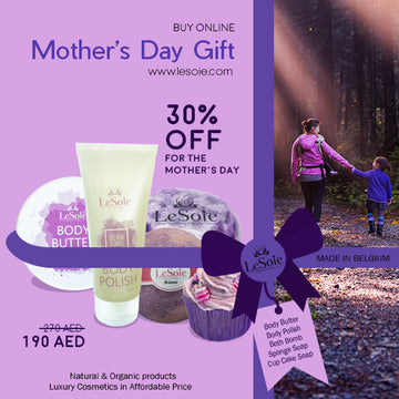 Mother's Day Gift - LeSoie Body Care Oriental Flowers