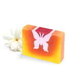 Pink Butterfly Block Soap
