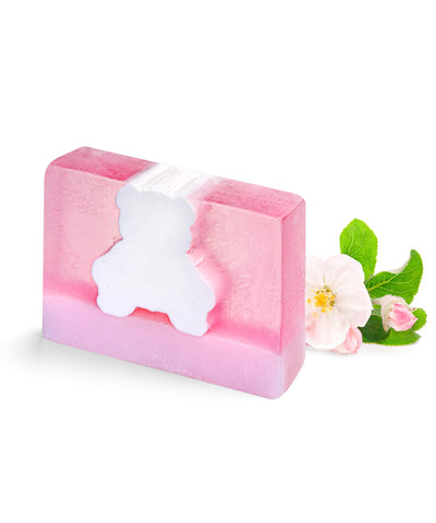 Pink Teddy Block Soap