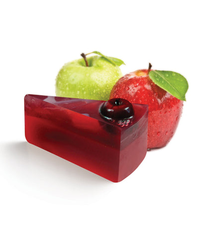LeSoie Pie Soap - Red Apple & Glitter 90g/1400g