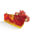 Big Rhubarb Crumble Soap Pie