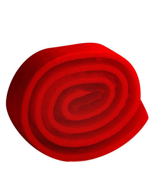 Red Flowers Rolly Polly Soap