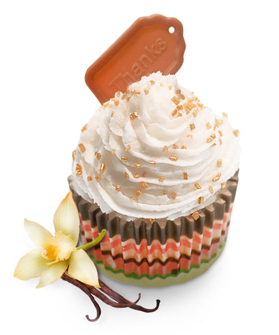 LeSoie CupCake Soap - Signature Chocolate