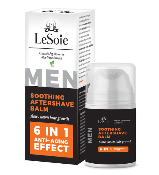 Soothing After Shave Balm ( ECO Certified ) - For Men