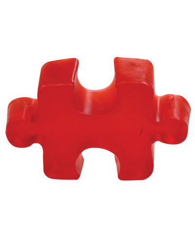 Red Flowers Transparent Puzzle