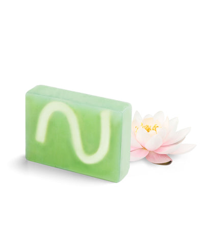White Lotus with Green Tea Extract Block Soap