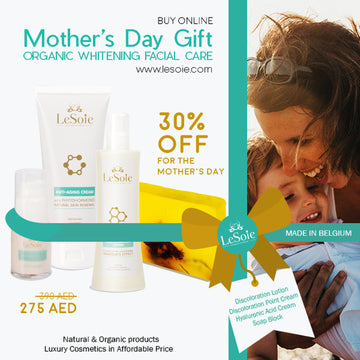 Mother's Day Gift - LeSoie Facial Care Organic Whitening / Anti-aging