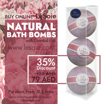 LeSoie SALE - 35% Natural Bath Bomb 660g, Britonie