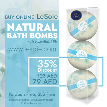 LeSoie SALE - 35% Natural Bath Bomb 660g, Impression