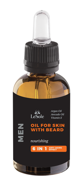 Joie Homme Oil for Skin with Facial Hair and Beard