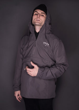 Kings Without Crowns. College Team Anorak. Graphite Color Option.