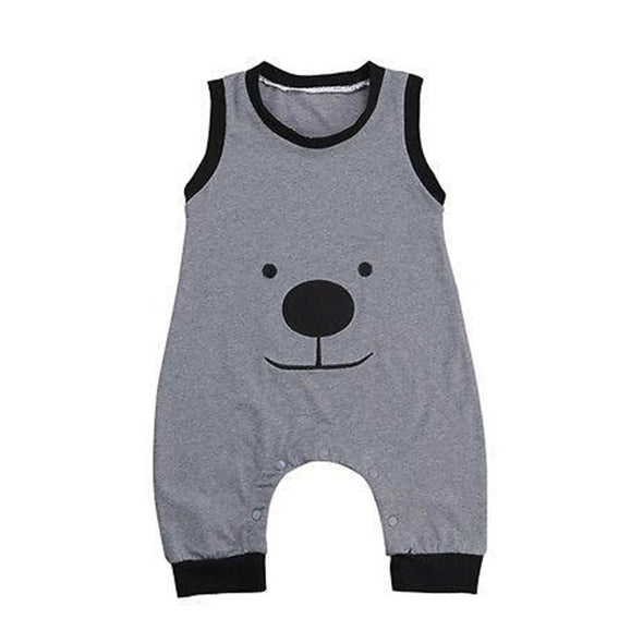 Happy Bear Playsuit